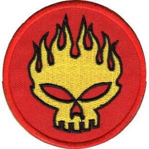 "iron on patch "" Spit Fire"""