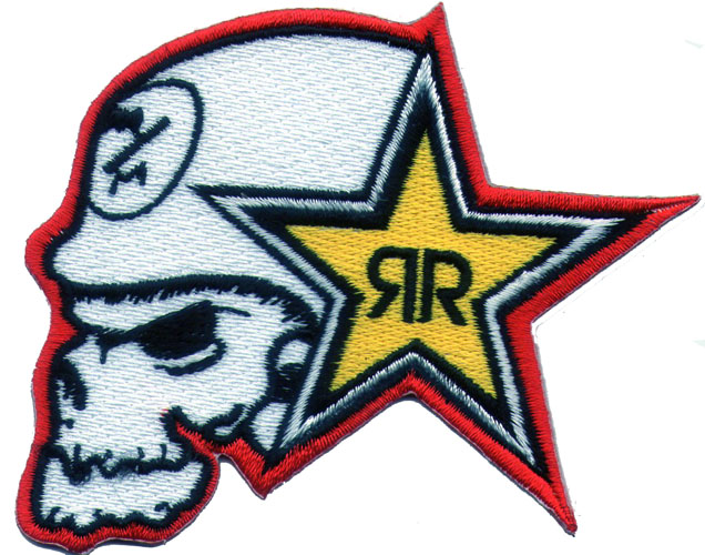 "iron on patch "" Rockstar """