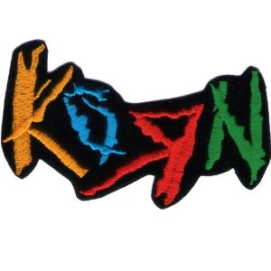 "iron on patch "" Korn """