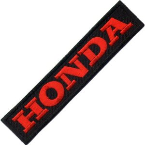 "iron on patch "" Honda """