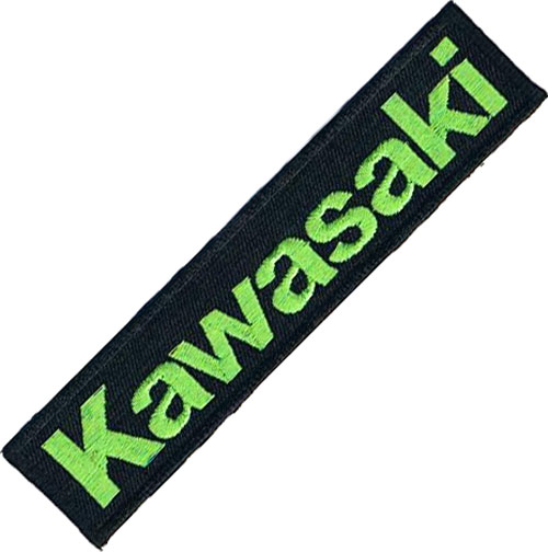 "iron on patch "" Kawasaki """