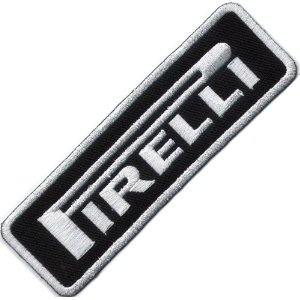 "iron on patch "" Pirelli """