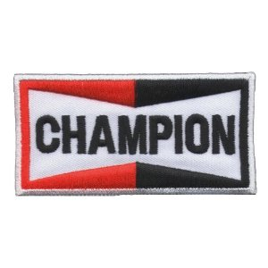 "iron on patch "" Champion """