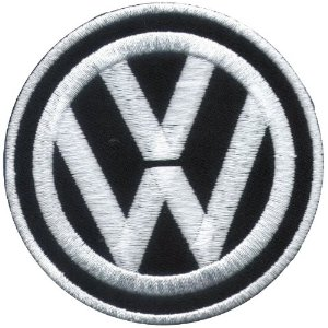"iron on patch "" Volkswagen """