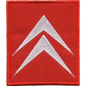 "iron on patch "" Citroen """