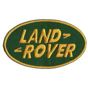 "iron on patch "" Land Rover """