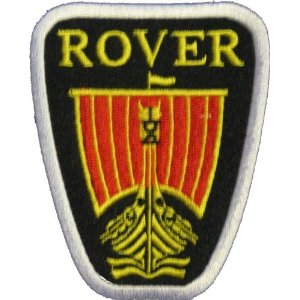 "iron on patch "" Rover """