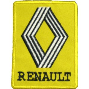 "iron on patch "" Renault """