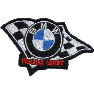 "iron on patch "" BMW """