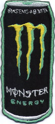 "iron on patch "" Monster Energy """