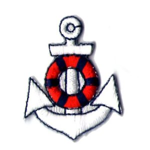 "iron on patch "" anchor IV """