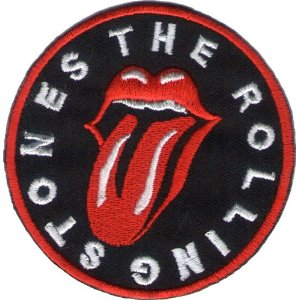 "iron on patch "" Rolling Stones """